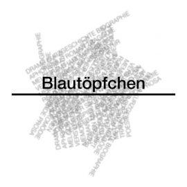 BLAUTÖPFCHEN