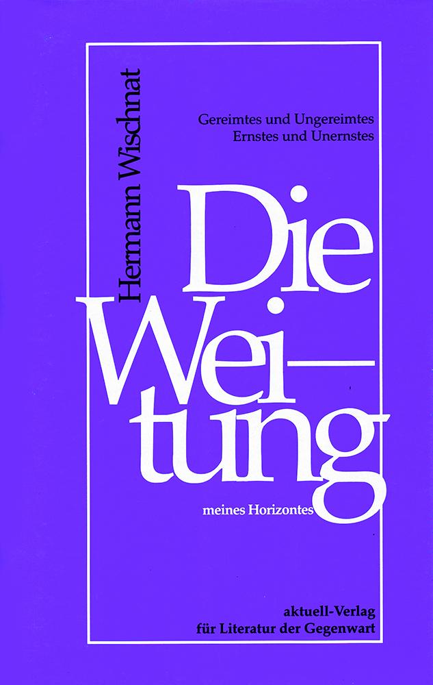 Die Weitung meines Horizontes 2002_ISBN 3-9251195-72-6