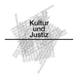 KULTUR UND JUSTIZ